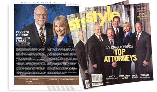 Top Attorney Colorado Springs